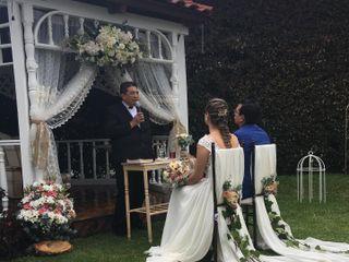 El matrimonio de Eriberto y Sylvia