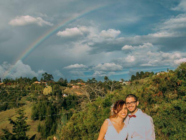 El matrimonio de Waldír Alexander y Laura Cristina  en Guarne, Antioquia 4