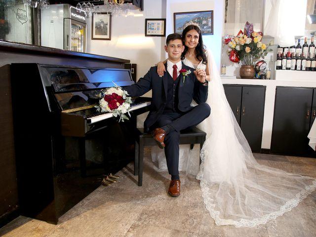 El matrimonio de Fernando y Laura
