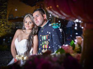 El matrimonio de Angélica y Orlando