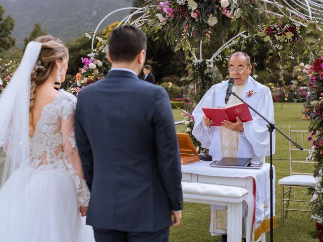 El matrimonio de Juan Pablo y Sara en Tenjo, Cundinamarca 13