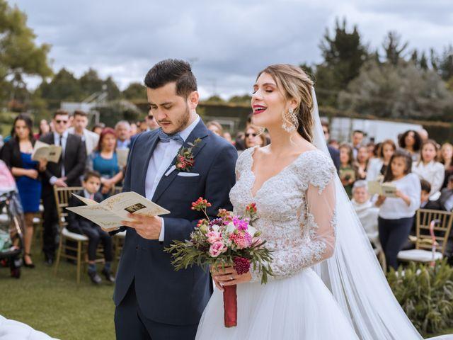 El matrimonio de Juan Pablo y Sara en Tenjo, Cundinamarca 17