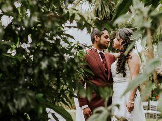 El matrimonio de Angel  y Ana Milena  1