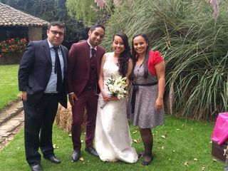 El matrimonio de Angel  y Ana Milena  3