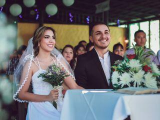 El matrimonio de María Fernanda y Juan Camilo