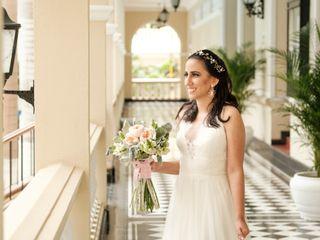 El matrimonio de Cristina y Kieferd 2