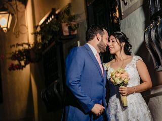 El matrimonio de Karen y Javier