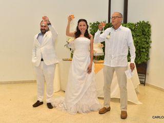 El matrimonio de Elena María  y Miguel Andrés  1