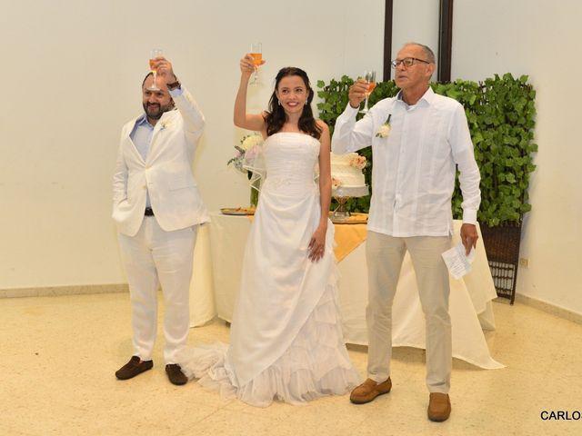 El matrimonio de Miguel Andrés  y Elena María  en Villavicencio, Meta 1