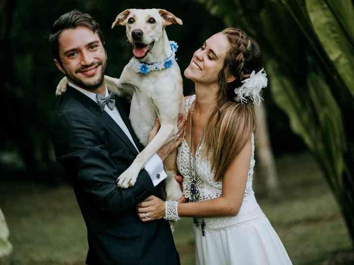 El matrimonio de Johana y Daniel