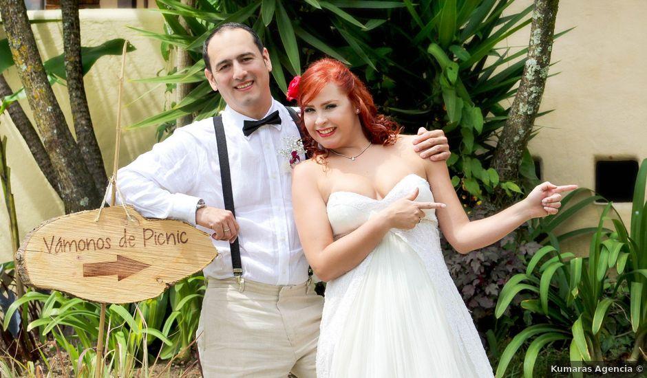 El matrimonio de Jhon y María Cecilia en La Estrella, Antioquia