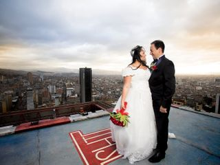 El matrimonio de Joha y Andrés