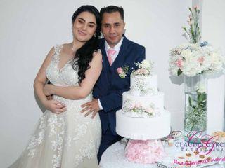 El matrimonio de Catalina y Iderman