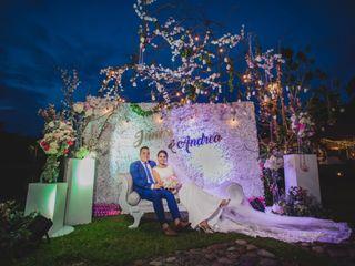 El matrimonio de Andrea y Junior