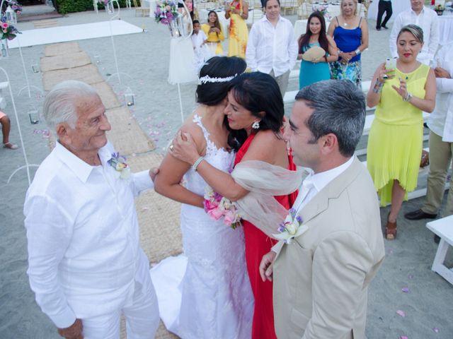 El matrimonio de Sebastiano y Laura en Santa Marta, Magdalena 16