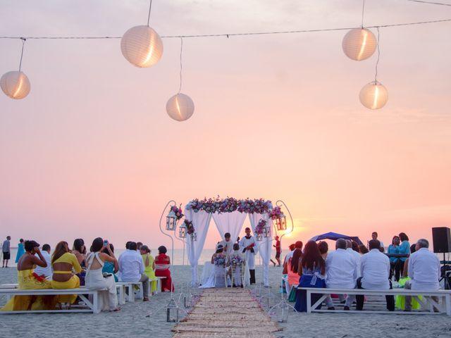 El matrimonio de Sebastiano y Laura en Santa Marta, Magdalena 18