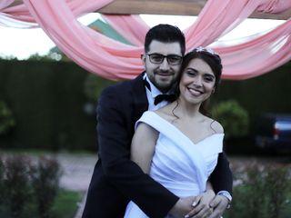 El matrimonio de David y Natalia