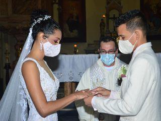 El matrimonio de Kevin Manuel  y Wguerddy Alejandra  1