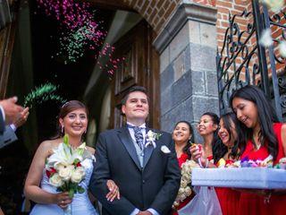 El matrimonio de Andrea y Jorge