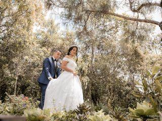 El matrimonio de Daniela   y John Sergio   3