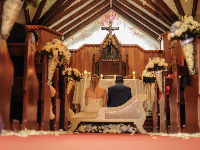 El matrimonio de Carlos y Vanessa en Chía, Cundinamarca 6