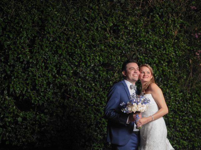 El matrimonio de Carlos y Vanessa en Chía, Cundinamarca 8