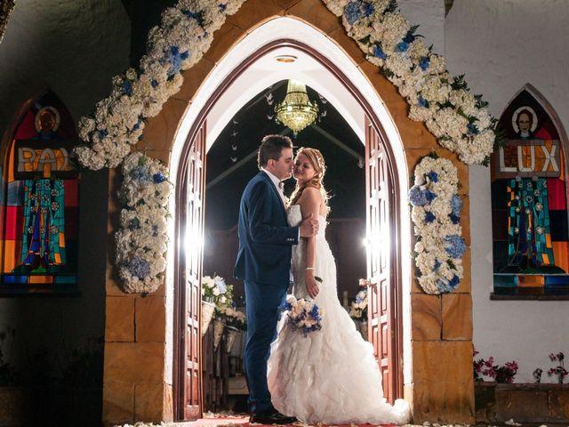 El matrimonio de Carlos y Vanessa en Chía, Cundinamarca 14