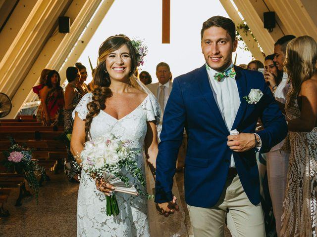 El matrimonio de Carolina y Javier