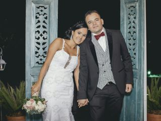 El matrimonio de Tita y Juan