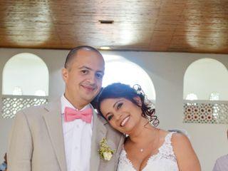 El matrimonio de Luz Dary y Victor