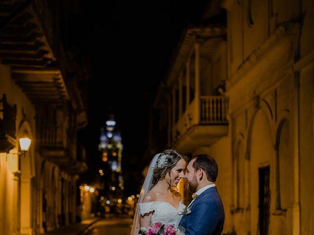 El matrimonio de Julián y Jessica  en Cartagena, Bolívar 11