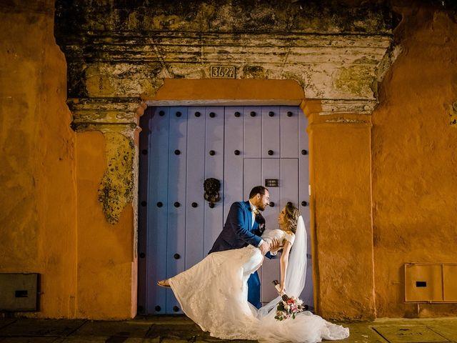El matrimonio de Julián y Jessica  en Cartagena, Bolívar 12
