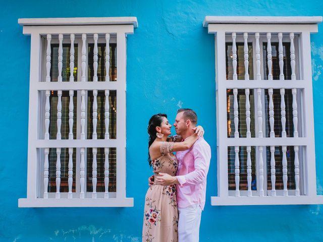 El matrimonio de Orestes y Andrea en Cartagena, Bolívar 22