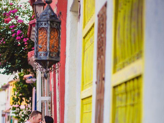 El matrimonio de Orestes y Andrea en Cartagena, Bolívar 25