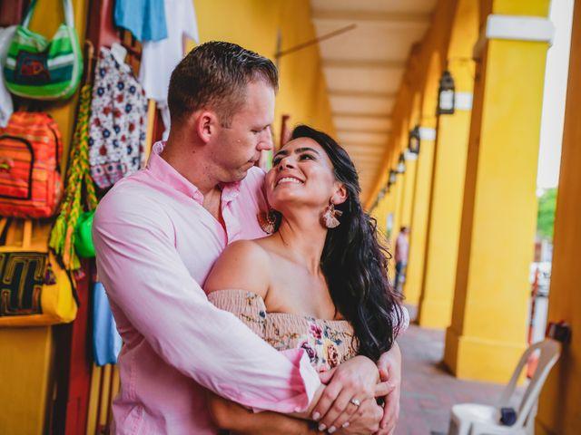 El matrimonio de Orestes y Andrea en Cartagena, Bolívar 49