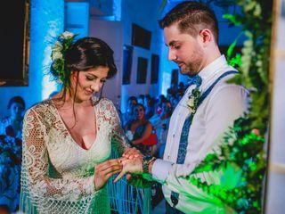 El matrimonio de Christ y Laura