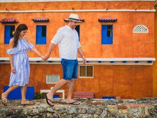 El matrimonio de Laura y Christ en Cartagena, Bolívar 34