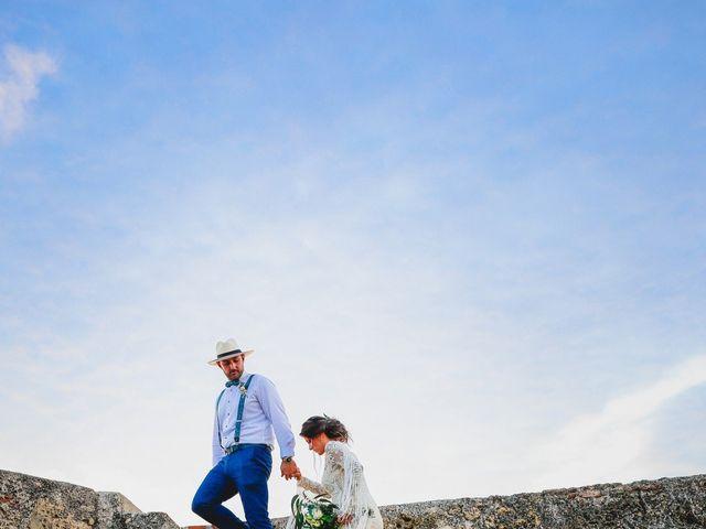 El matrimonio de Laura y Christ en Cartagena, Bolívar 1