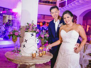 El matrimonio de Andrew y Mónica