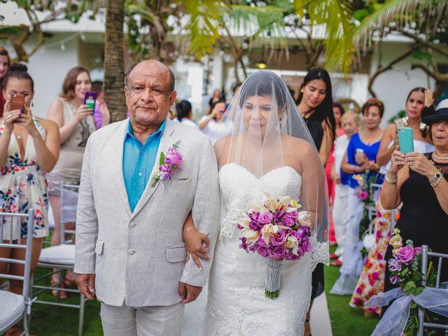 El matrimonio de Mónica y Andrew en Cartagena, Bolívar 13