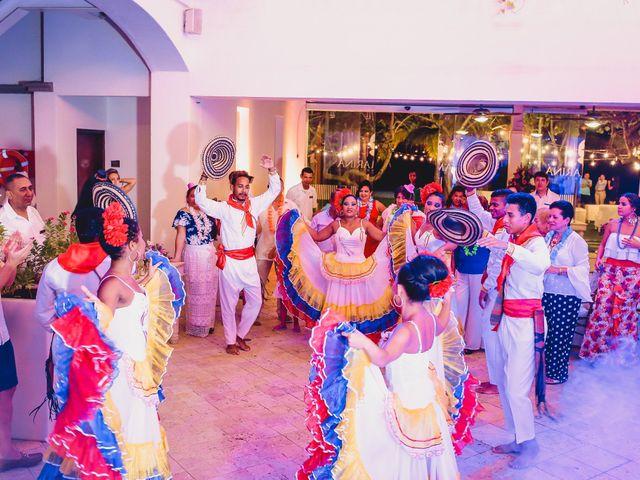 El matrimonio de Mónica y Andrew en Cartagena, Bolívar 22