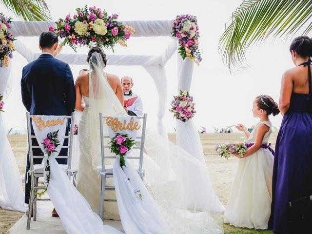 El matrimonio de Mónica y Andrew en Cartagena, Bolívar 32