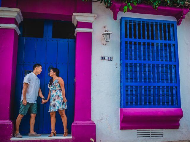 El matrimonio de Mónica y Andrew en Cartagena, Bolívar 37