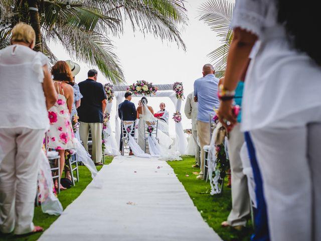 El matrimonio de Mónica y Andrew en Cartagena, Bolívar 42