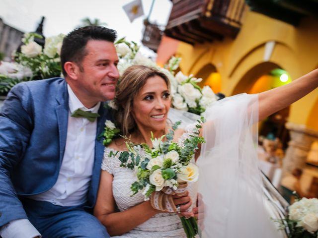 El matrimonio de Mónica y Dennis