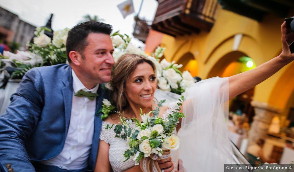 El matrimonio de Dennis y Mónica en Cartagena, Bolívar