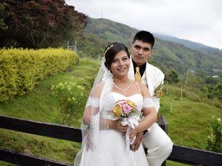 El matrimonio de Cindy Catalina y Olivier Antonio