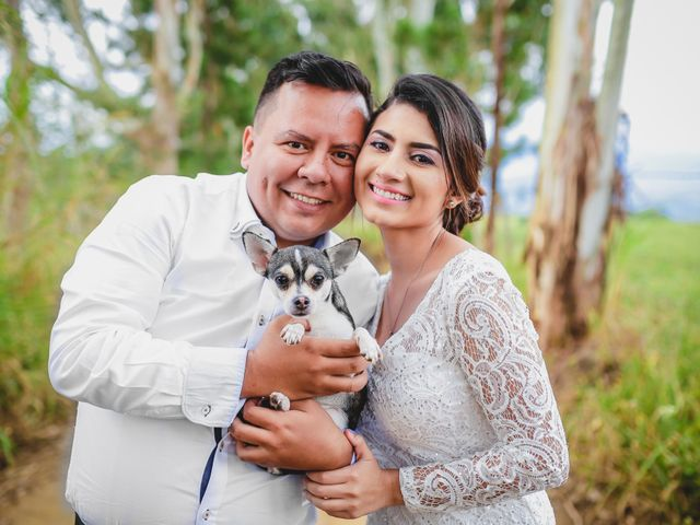 El matrimonio de Karine y Samuel