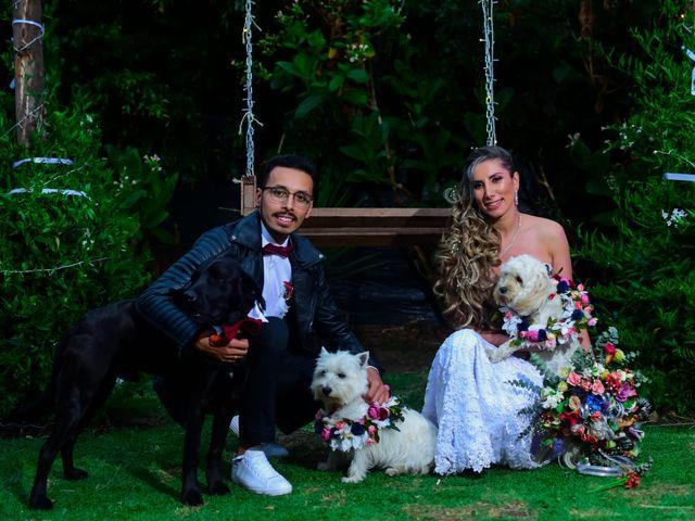 El matrimonio de Carolina y Cristian