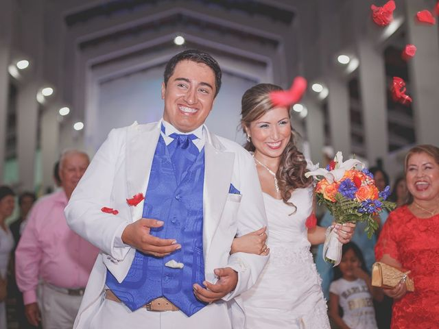 El matrimonio de Monica y Wilfor